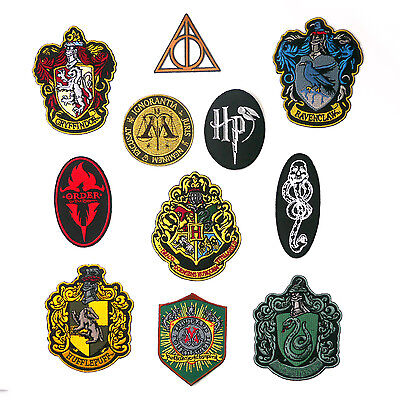 HARRY POTTER Movie Book Patch Series - Great Price, UK Seller, Fast Free Post!