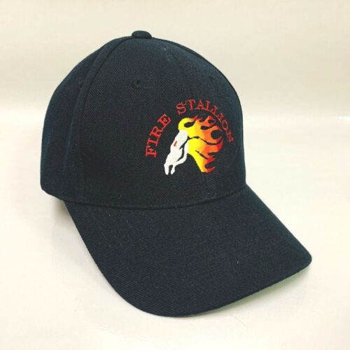 RARE Heavy Lift FIRE STALLION Sikorsky Helicopter Firefighter Rescue HAT, black