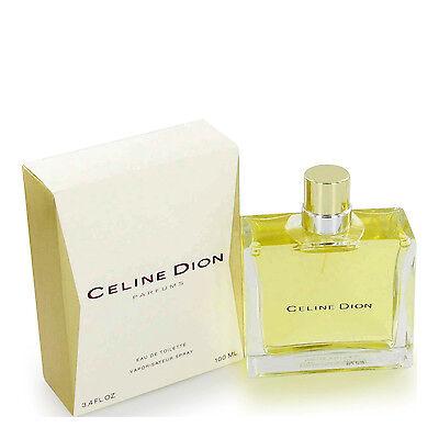 Celine Dion By Celine Dion 3 4 3 3 Oz 100 Ml Women Perfume Edt Spray Nib
