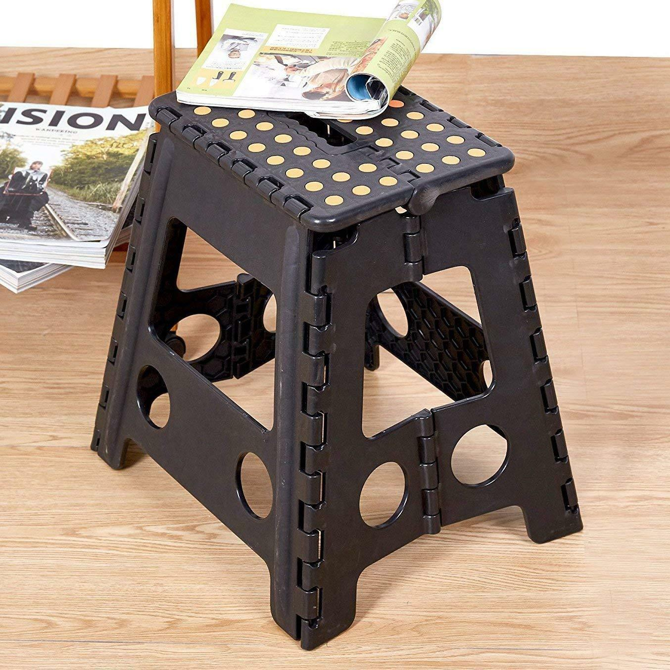 Groovy Details About Folding Plastic Step Stool Seat Chair Kidsadults For Kitchen Garden Bathroom Forskolin Free Trial Chair Design Images Forskolin Free Trialorg