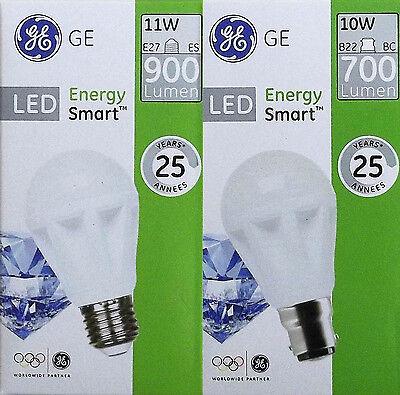 GE LED Lampen 7 bis 12 Watt E27 B22 Birne Leuchte teilw. dimmbar Glühlampe SMD ()
