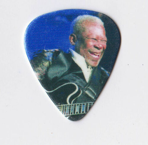 LEGENDARY BLUES GUITARIST BB KING GUITAR PICK! OBTAINED FROM HIM IN PERSON!