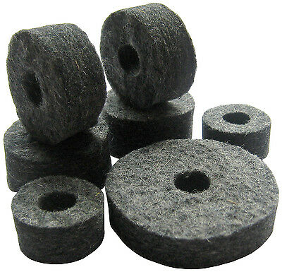 Cymbal and Hi Hat Stand Felts Pack (for drum kit)