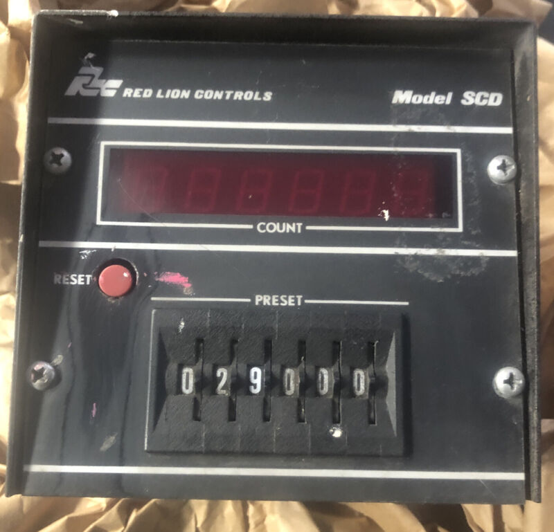 Red Lion Controls Model SCD Display Counter