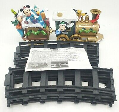 Vintage Avon DISNEY Christmas Mickey And Friends Around The Tree Train Set
