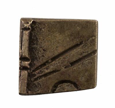 Weight Akan IN Weigh L'Or Brass 10 G Ashanti Art African Figure Geometric 573