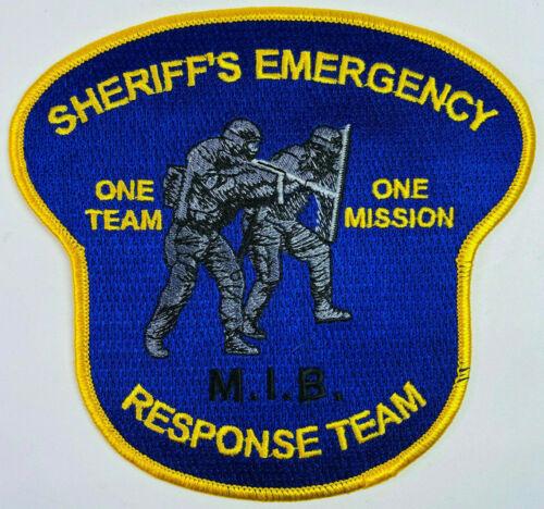 Bergen County Sheriff Emergency Response Team ERT New Jersey NJ SWAT Patch C2
