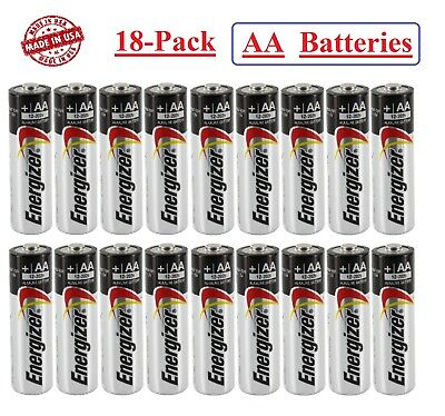 (18-Pack) Energizer Alkaline AA Batteries Exp 2028