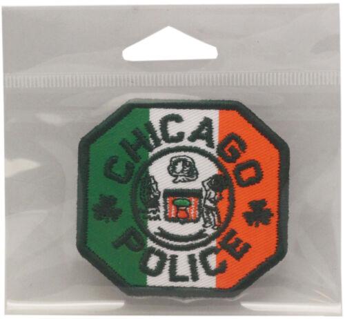 "CPD Irish Octagon Patch Shamrock Approx. 2.5"" x 2.25"""