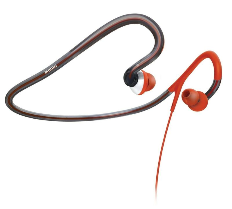 Philips Shq4000 10 Headphones Philips Shq4000 Action Fit Sports Neckband Headphones Sweatproof Washable