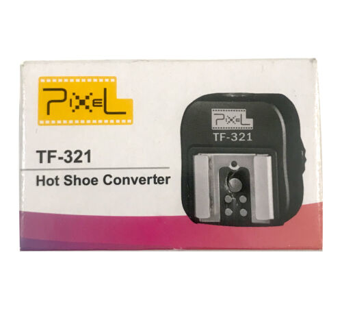 Pixel TF-321 Pixel e-TTL Flash Hot Shoe to Pc Adapter for Canon DSLRs