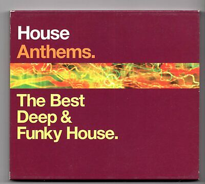 (JG112) House Anthems, The Best Deep & Funky House, 36 tracks - 2002 double
