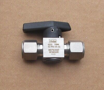 Parker 38 Stainless Steel Rotary Plug Valve 6z-pr4-vt-ss Several Avail New
