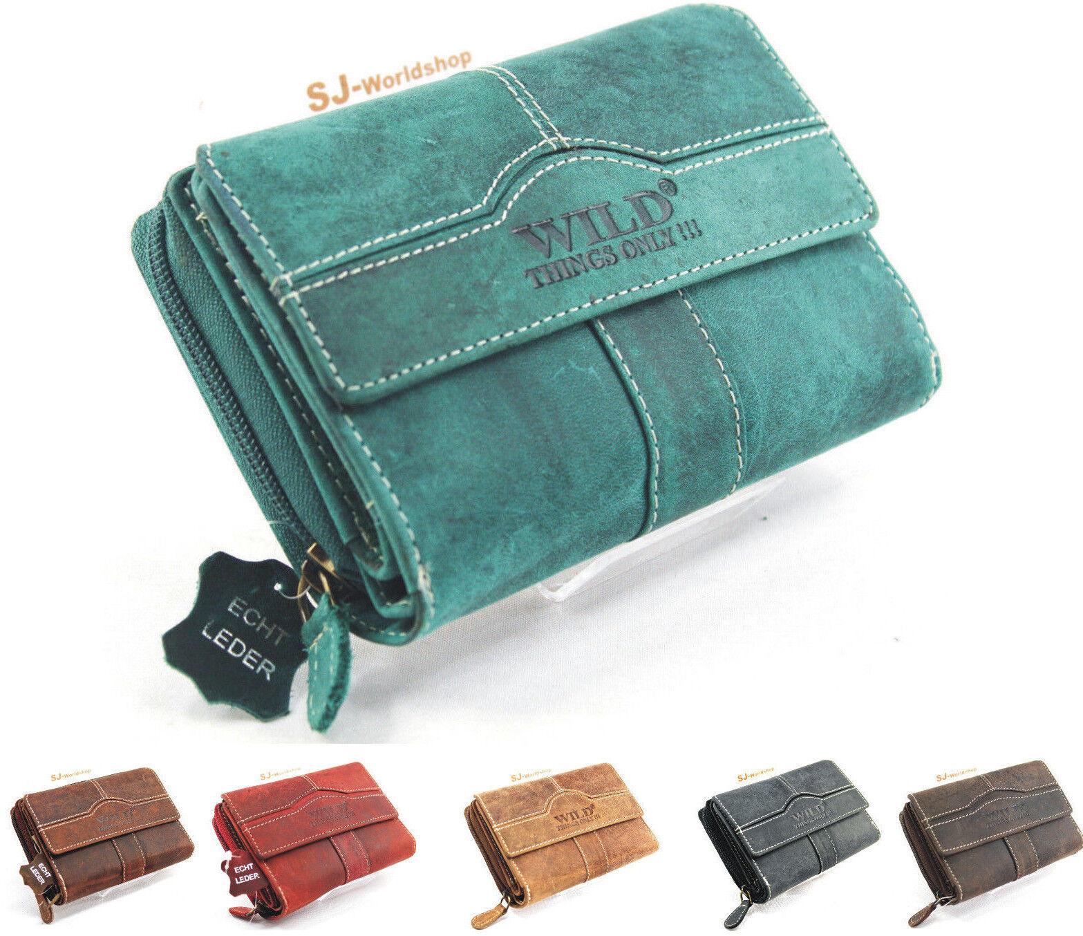 Damen Echt Leder Portemonnaie Brieftasche,Geldbörse,Etuis,Wallet
