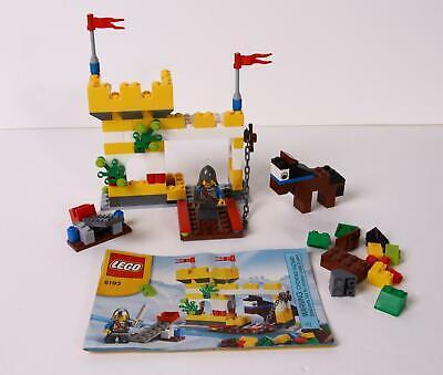 Lego 6193 Castle Building Set Instructions 2009 VGC Horse Knight