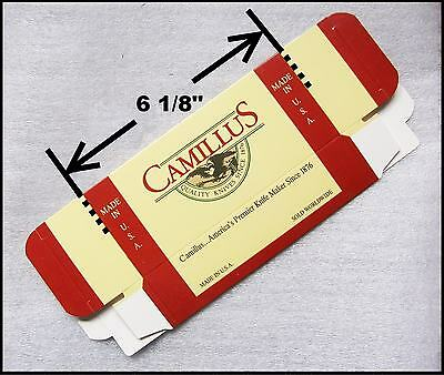 Camillus Knife 6 1/8 Box Knives Storage Solution Factory Multiple Available