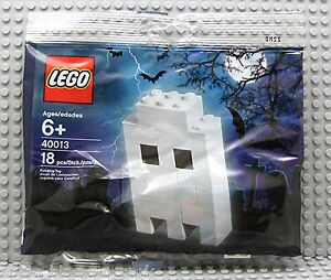 FREE-SHIPPING-Lego-WHITE-HALLOWEEN-GHOST-Set-40013-Sealed-Package-18-Pieces-NEW