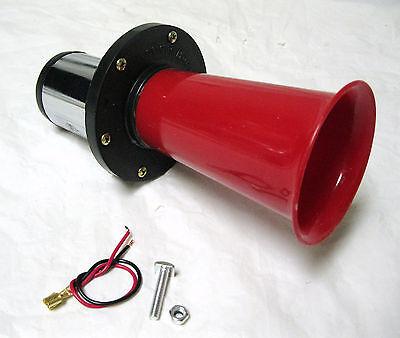 Hd Motor Driven Ahooga Ooga Car Old School Horn Red Classic Antique Klaxon Type