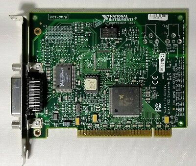 National Instruments Ni Pci-gpib Ieee 488.2 Interface Card 183617h-01