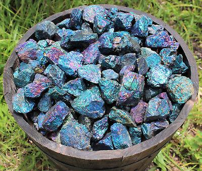 1/2 lb Bulk Lot Raw Rough Natural Chalcopyrite Gemstone Peac