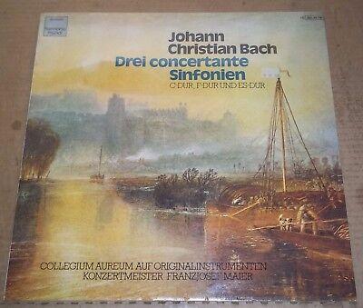 Collegium Aureum J C Bach 3 Sinfonia Concertantes   Dhm 1C 065 99790 Sealed