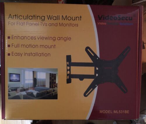 "NEW VideoSecu ML531BE TV Wall Mount for Most 27""-55"" LED LCD"