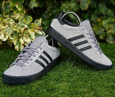 ❤ BNWB, Rare & Genuine adidas originals ® Forest Hills Grey Trainers UK Size 8