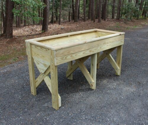 Wood Plans for a 5 ft. Trug Planter Raised Garden Bed - CD via Mail