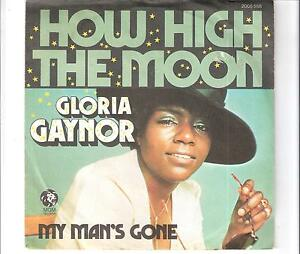 gloria gaynor how high the moon ebay. Black Bedroom Furniture Sets. Home Design Ideas