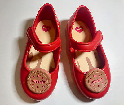 Mel by Melissa Girls Mini Mel Cool Baby Biscuit  mary jane Shoes sz 5-11 new](Cool Girls Shoes)
