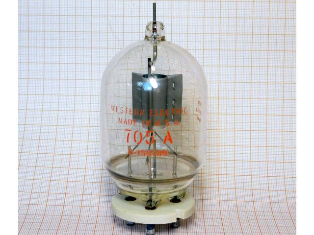 Tube Half-Wave Vacuum Rectifier 705A 30kV RICHARDSON [K11]