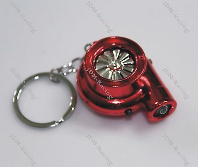 Rechargeable Electric Turbo Lighter keyring keychain has LED light and BOV sound