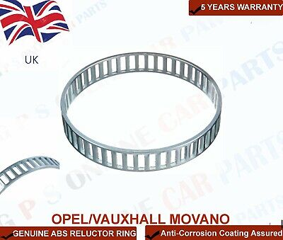 GENUINE ABS RELUCTOR RING RING FOR OPEL/VAUXHALL MOVANO (1998-2010)REAR HUB