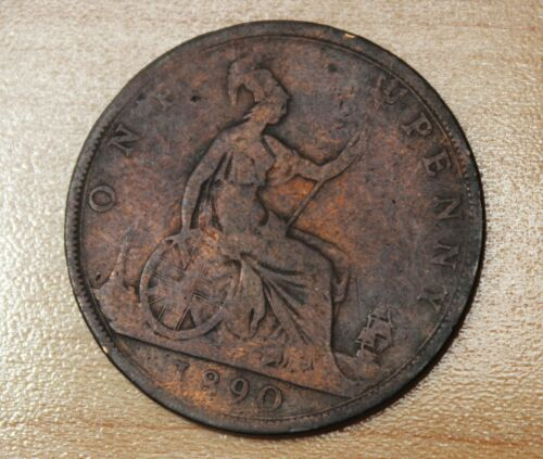 1890 Great Britain 1 Penny