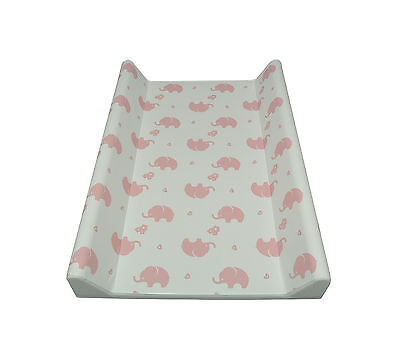 Wickelauflage 2-Keil Elefant rosenquarz 70x50 cm Wickeltisch Ökotex Auflage rosa