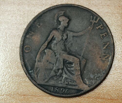 1896 Great Britain 1 Penny