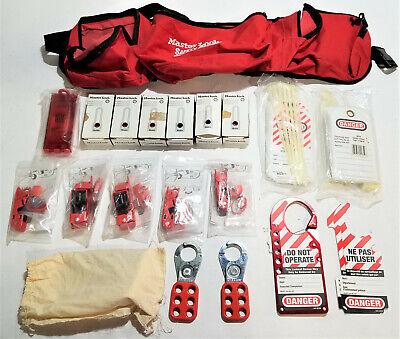 Master Lock Out Kit Portable Lockout Kit