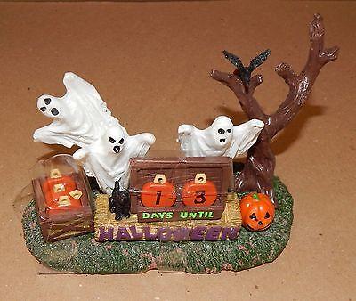 Halloween Spooky Town Halloween Countdown Lemax #63264 Ghosts/Pumpkins  NIB 117N (Halloween Ghost Town)