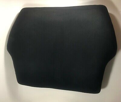 Original Humanscale Freedom Chair Back In Black Waves Microfiber Fabric