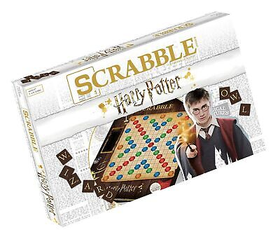 Scrabble World of Harry Potter Board Game | Official Scrabble Game Featuring ...