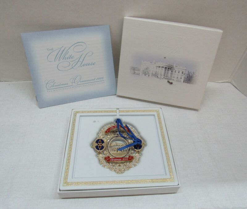 The White House Historical Association Christmas Ornament (2006) in Original Box