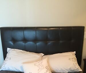 Leather Headboard - for double bed