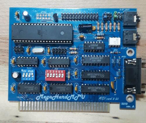 Sound midi MegaHardMpu MPU-401  8 Bit ISA