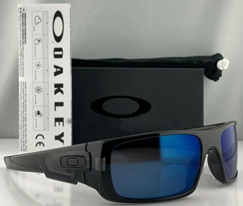 NEW OAKLEY CRANKSHAFT Black Ink Galaxy Blue Sunglass 9239-26