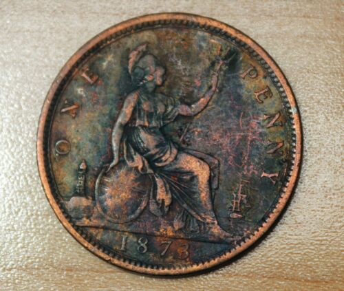 1873 Great Britain 1 Penny