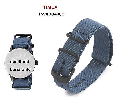 Timex Ersatzarmband TW4B04800 Expedition Scout Ersatzband - 20mm Durchzugsband