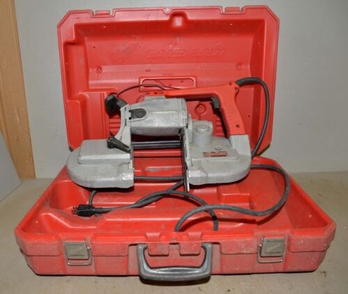 Milwaukee Deep cut band saw portable 6230 corded with case vintage metal tool