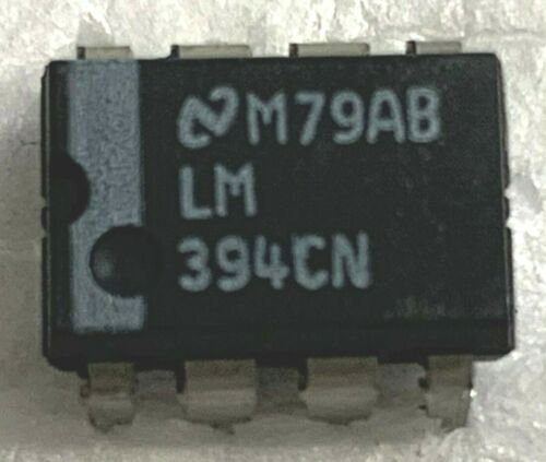 QTY 5 NATIONAL SEMICONDUCTOR LM394N  PREC MATCHED TRANSISTOR PAIR  ***NOS***