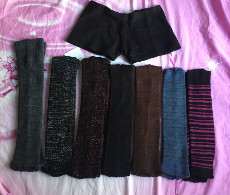NWOT KD Dance Arm Warmer, Leg Warmer, Shorts Size S,M