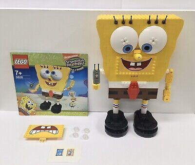 Lego Spongebob Squarepants 3826 Build A Bob, Complete w Manual, Plankton, No Box
